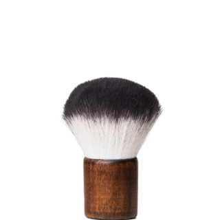 Brown Wood Kabuki Brush (Brown Wood Kabuki Brush)